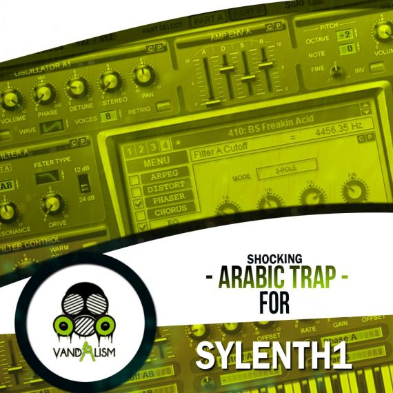 Shocking Arabic Trap For Sylenth1