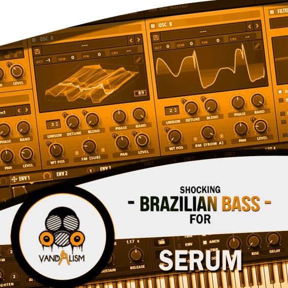 Shocking Brazilian Bass For Serum