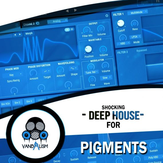 Shocking Deep House For Pigments