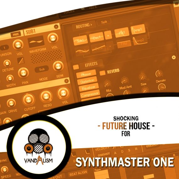 Shocking Future House For Synthmaster One