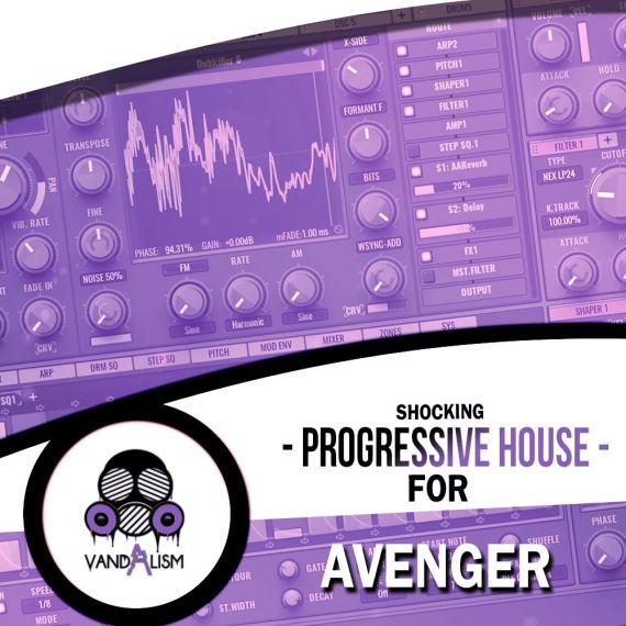 Shocking Progressive House For Avenger