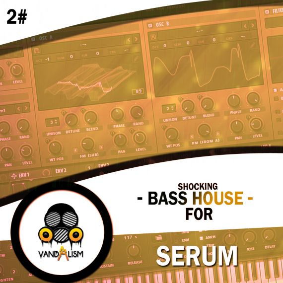 Shocking Bass House For Serum 2