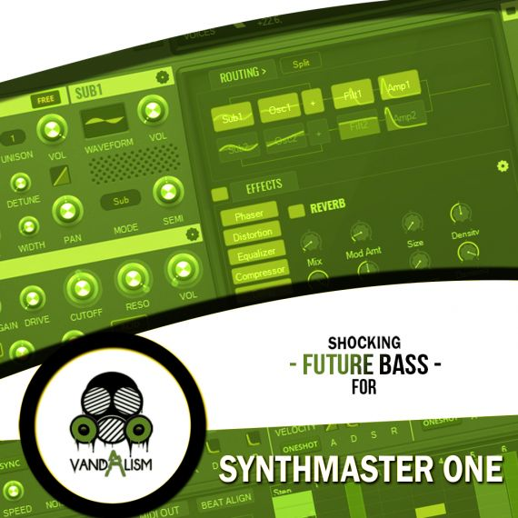 Shocking Future Bass For Synthmaster One