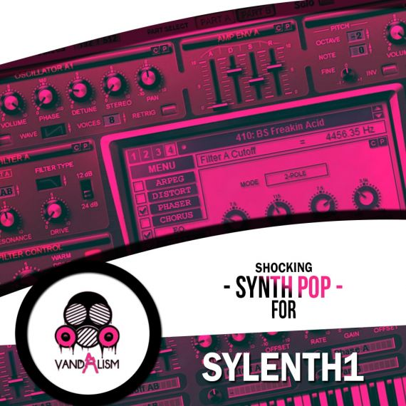 Shocking Synth Pop For Sylenth1