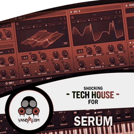 Shocking Tech House For Serum